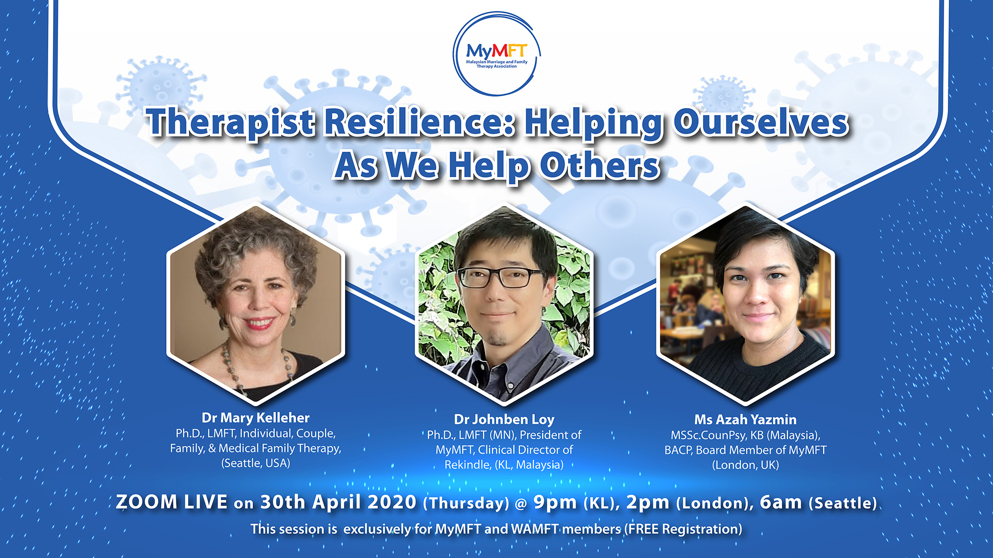 Therapists Resilience Zoom FB Event